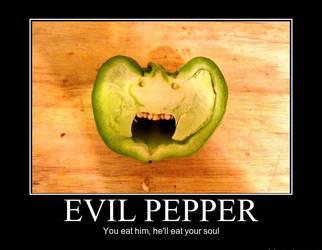 Evil Pepper by trolltrollingtroll