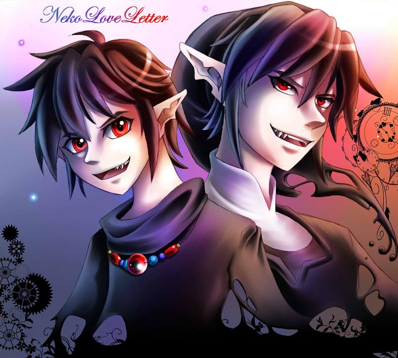 Dark Link - Child and Adult by NekoLoveLetter