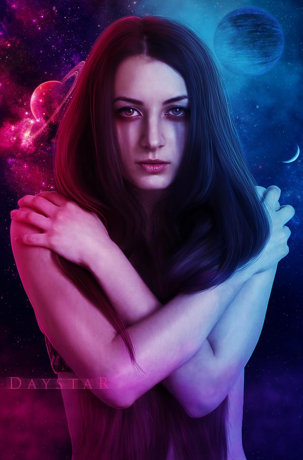 Celestial dualism by Daystar-Art