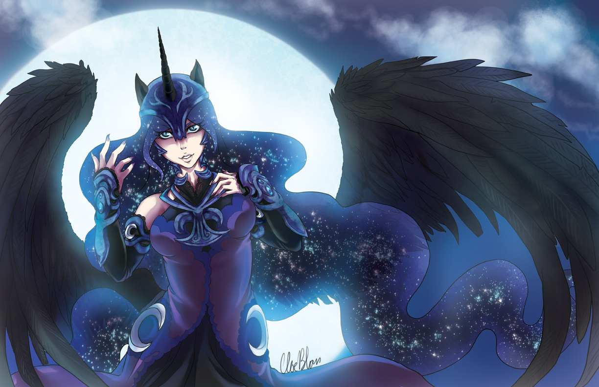 Princess of the Moon by Spoonful0fcats on DeviantArt