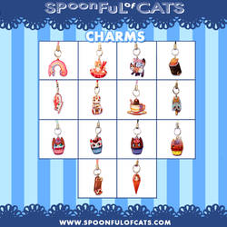 Spoonful of Cats CHARMS