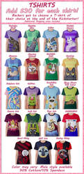 Spoonful of Cats tshirts on Kickstarter!