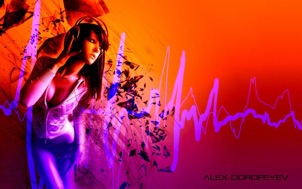 This is REAL GRAPHIC DESIGN KIDDIES Girl_listening_to_music___alex_dorofeyev_2_by_alexdorofeyev-d63wtmc