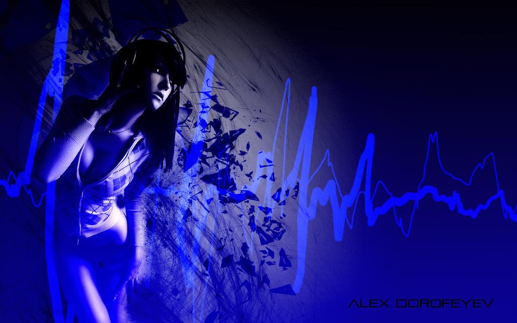 This is REAL GRAPHIC DESIGN KIDDIES Girl_listening_to_music___alex_dorofeyev_3_by_alexdorofeyev-d63wua7