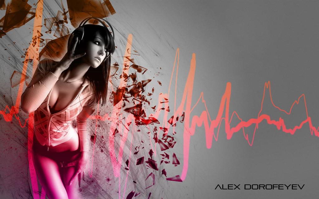 This is REAL GRAPHIC DESIGN KIDDIES Girl_listening_to_music___alex_dorofeyev_4_by_alexdorofeyev-d63wui5