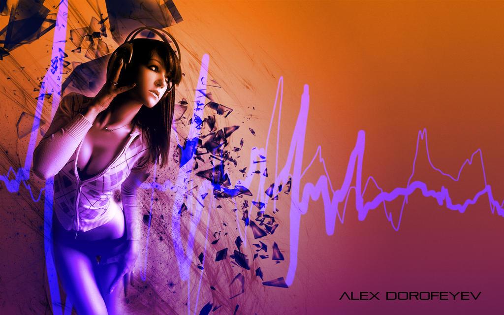 This is REAL GRAPHIC DESIGN KIDDIES Girl_listening_to_music___alex_dorofeyev_5_by_alexdorofeyev-d63wuon