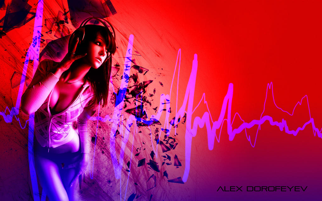 This is REAL GRAPHIC DESIGN KIDDIES Girl_listening_to_music___alex_dorofeyev_6_by_alexdorofeyev-d63ycq0
