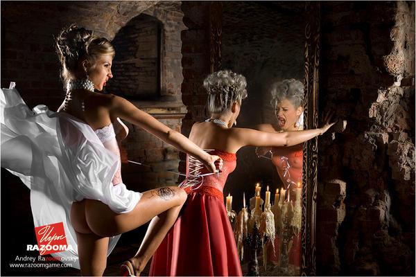 Эротические картинки девушек из сказок