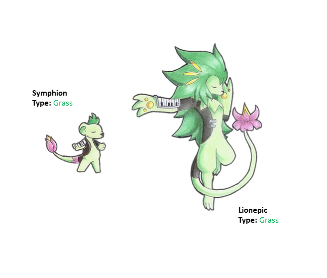 Symphion and Lionepic by WesleyFKMN