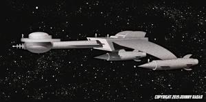 Star Trek 1955 - Klingonian Ship Scale