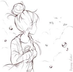 Looking by Hyan-Doodles