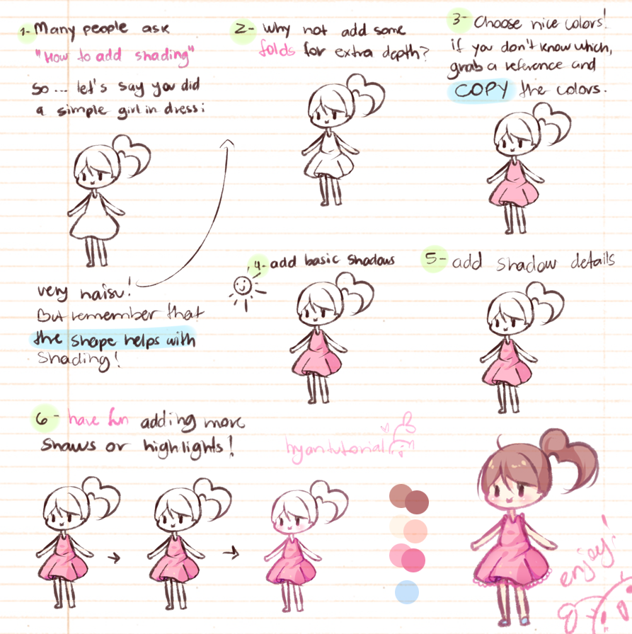 Even more simple by hyan doodles on deviantart for Doodle tutorial