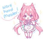 Work Hard Master!