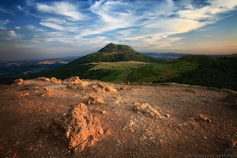 The Puy de Dome, North Face by MaximeCourty