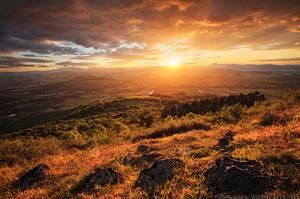 Blazing Sunset by MaximeCourty