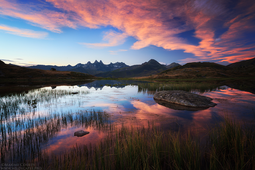 Guichard Lake II : Spectacular Dawn by MaximeCourty