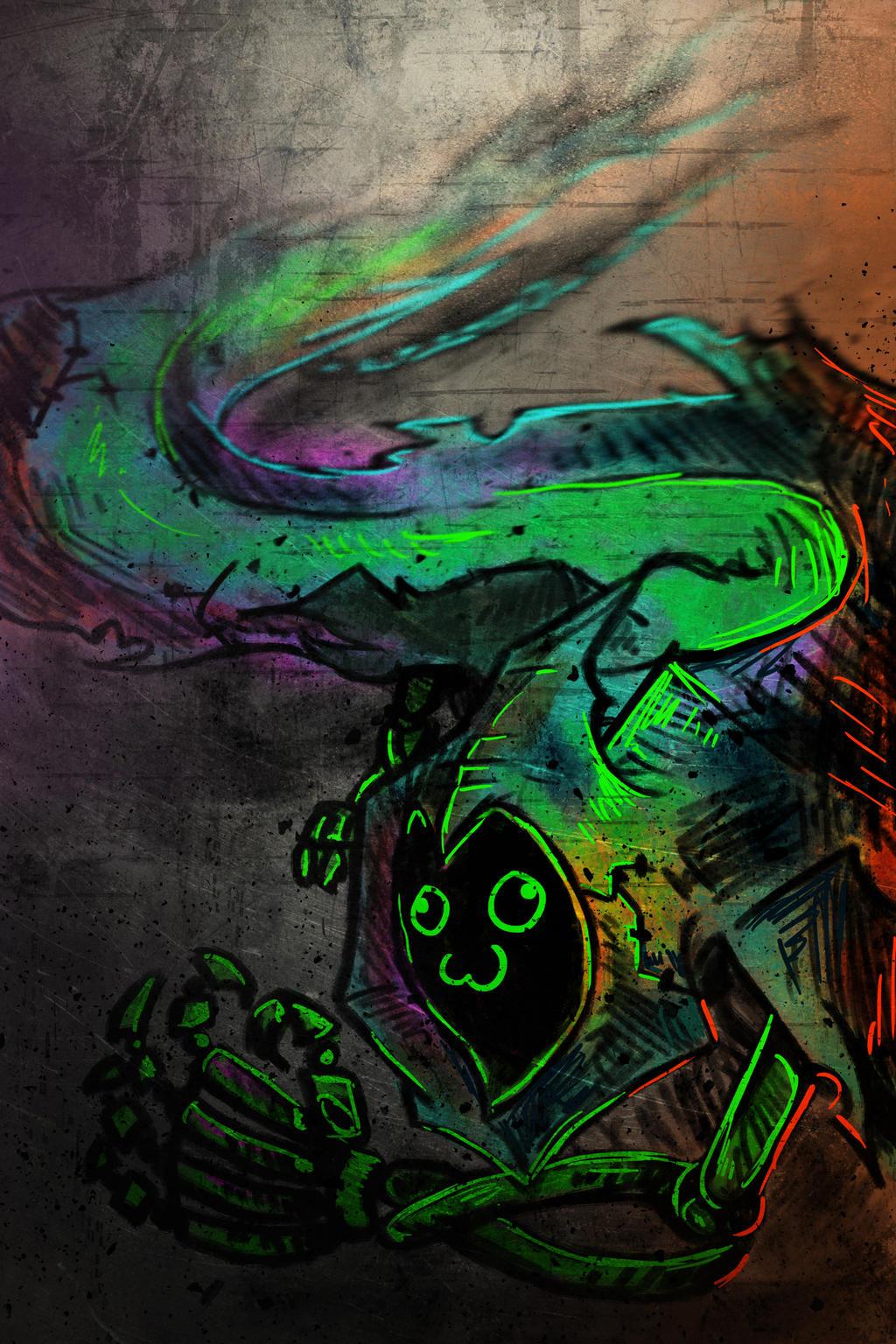 Spooky scary ghost? by FabloTheGayMoth on DeviantArt