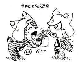Inktober 2018 - 28: Gift