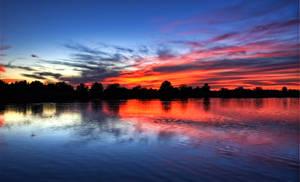 Serene Sunset by CeeThruMyEyes