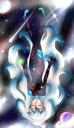 Space +Time Commission by Lafyel