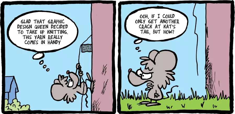THE FUZZY PRINCESS (3-14-2018) by bakertoons
