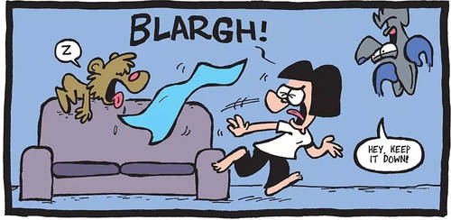 THE FUZZY PRINCESS (3-8-2019) by bakertoons
