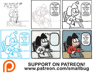 Behind the Scenes on Comics Making!