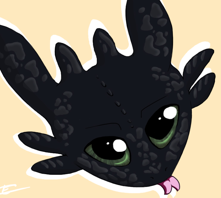 Toothless by Tip-the-cat