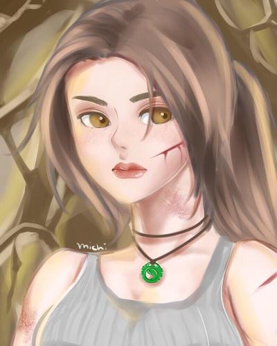 .: Lara Croft :. by pyonworks
