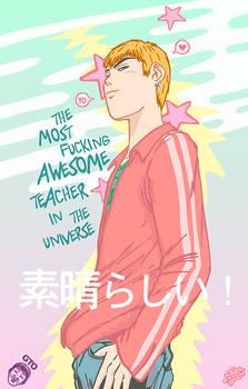 GREAT TEACHER by Akutou-san