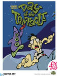 Day of the Tentacle - Vector by Akutou-san