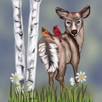 Majestic Deer SGG print
