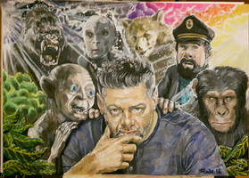 Andy Serkis  by la5me
