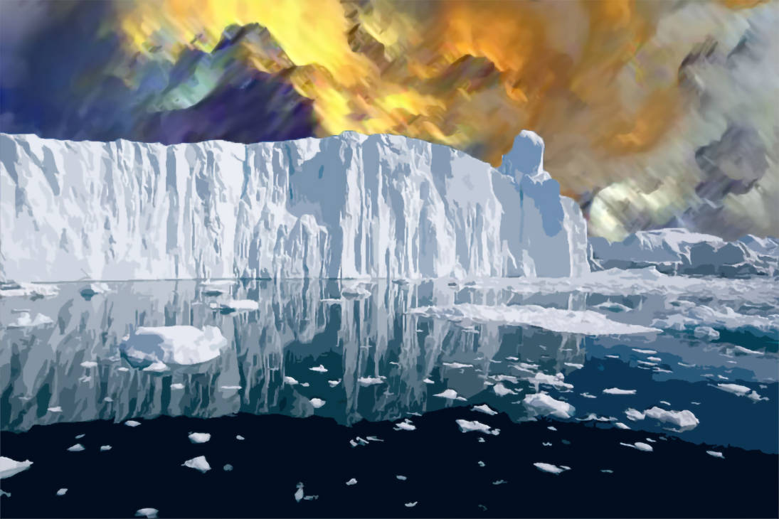 Abstract iceberg