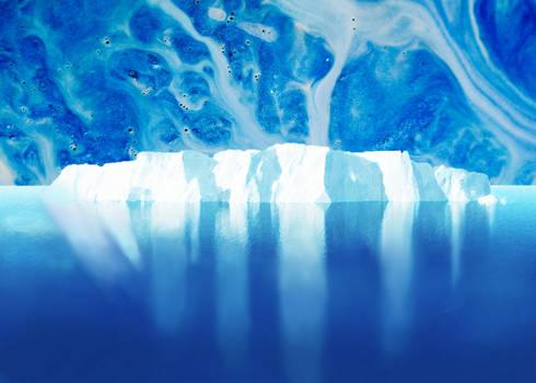 Abstract iceberg 2