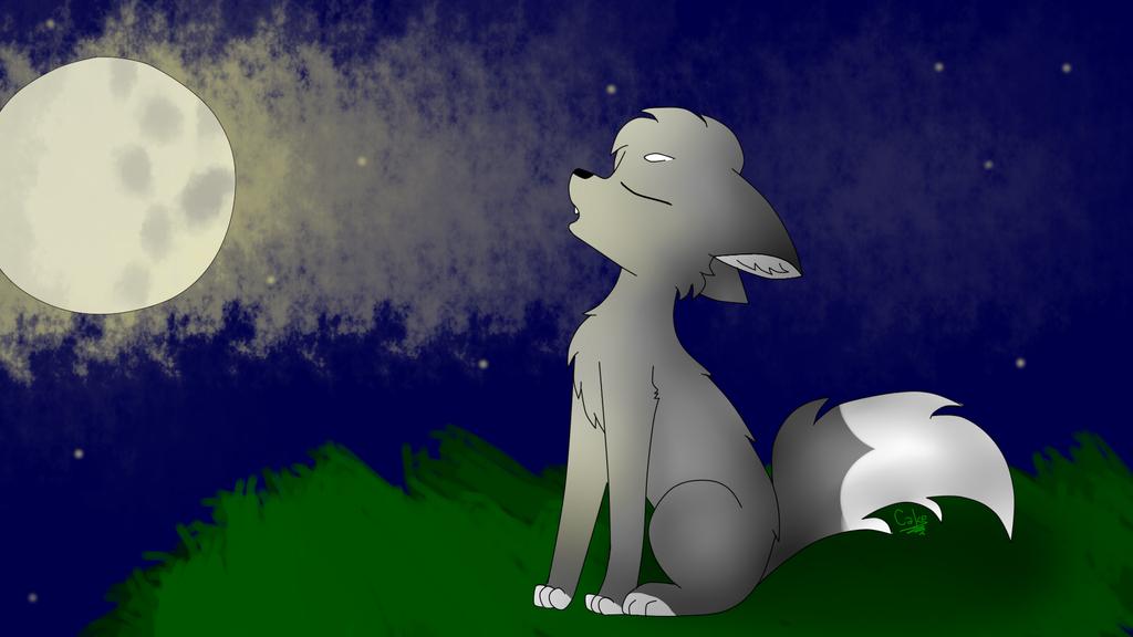 Night howl by CutieCakie