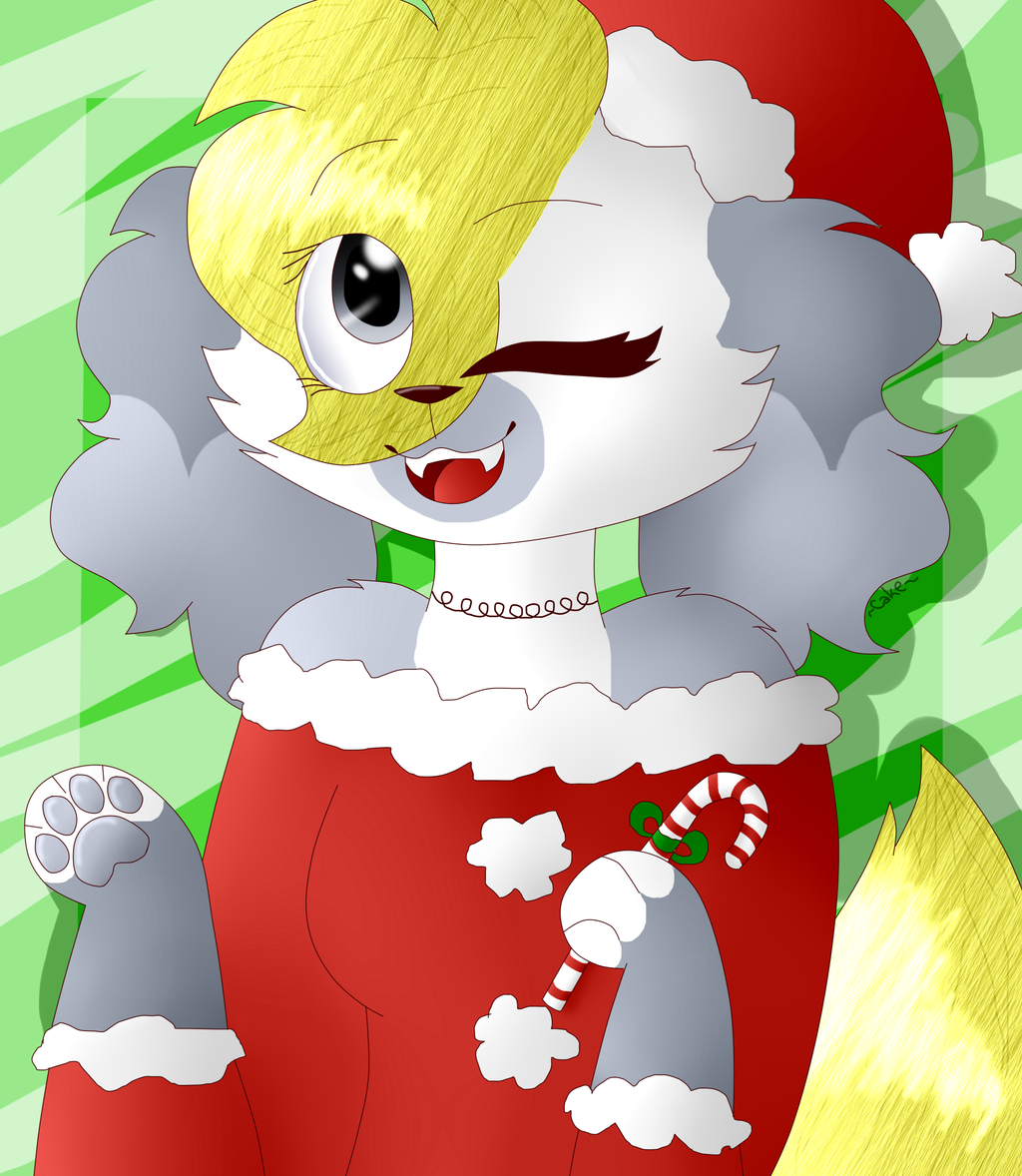 Candy Cane~ by CutieCakie