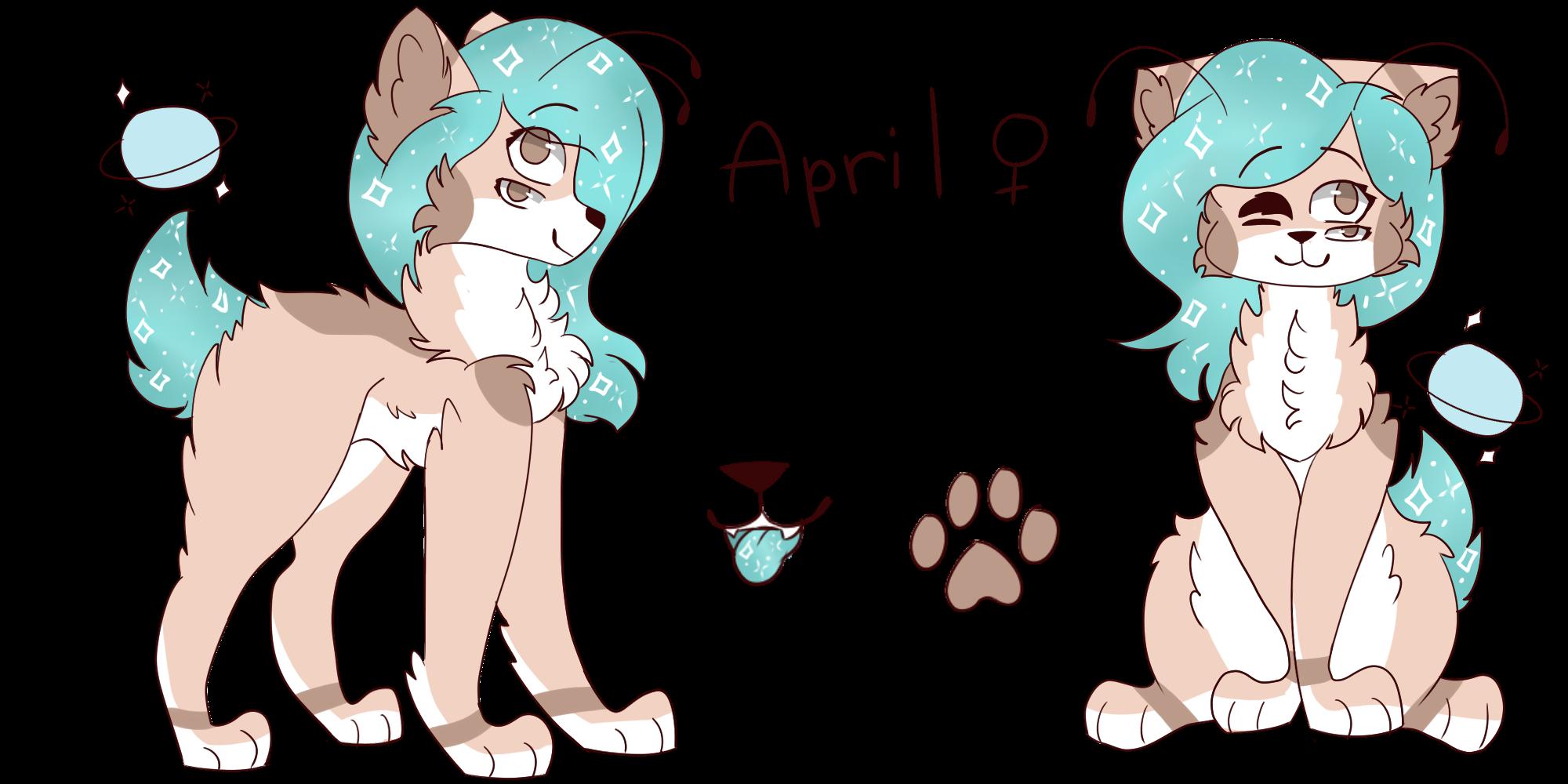 April ref by CutieCakie