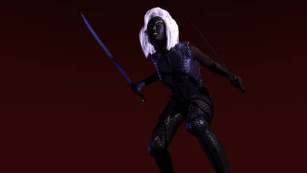 Drow test in armor2 by shaungsimpson