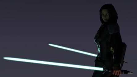 Mando Jedi - Viridian Sabers 2