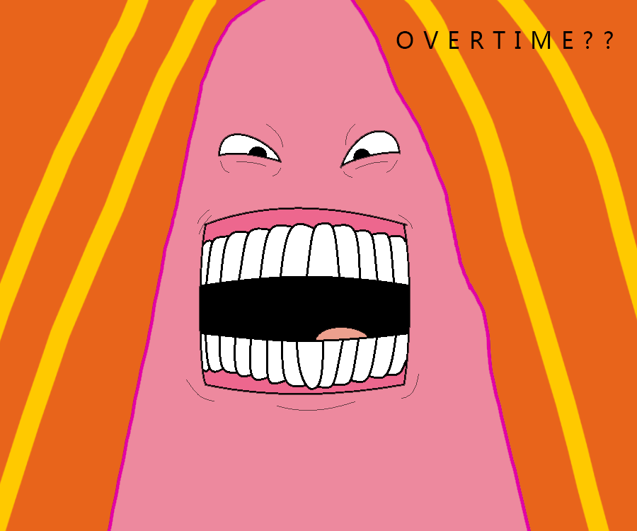 Patrick Star OVERTIME?? by YoniD3010