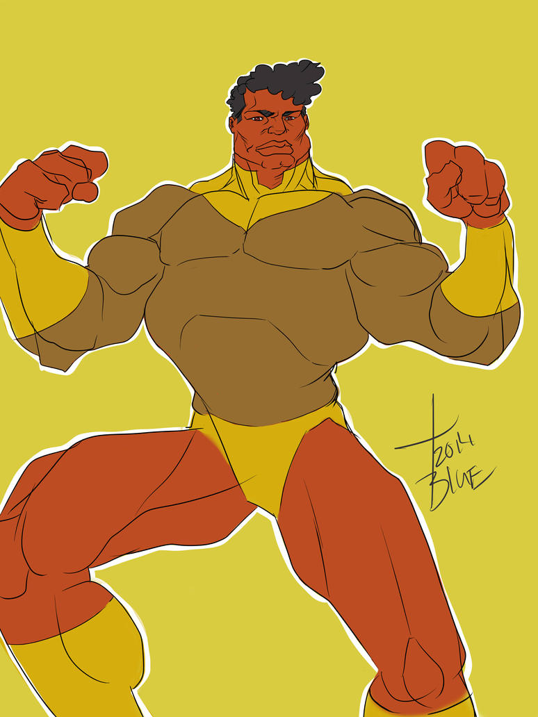 G-man lol flat colors by SuMrY