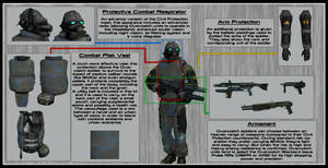 Combine Overwatch Soldier technical sheet by DrJorus