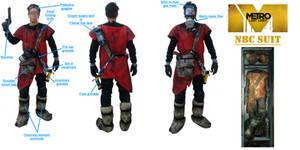 Metro: Last Light Hazard suit cosplay (detailed)