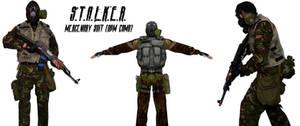 S.T.A.L.K.E.R. Mercenary suit with DPM Camo (WIP)