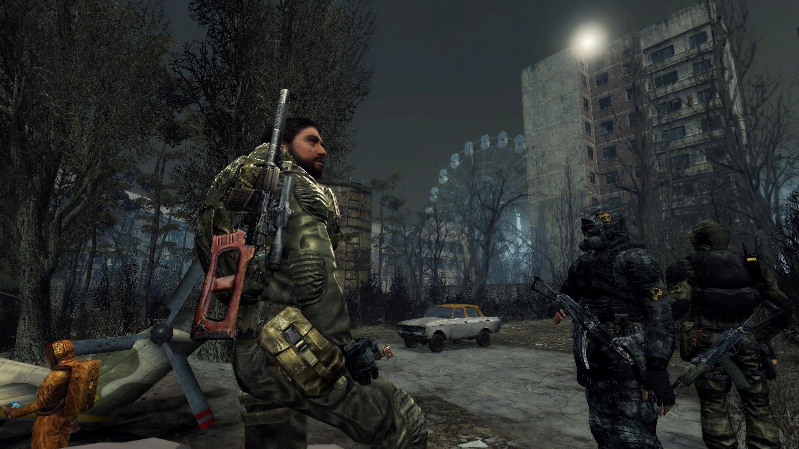 S T A L K E R Call Of Pripyat 3d Degtyarev By Drjorus On