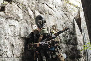 Trusted weapon (S.T.A.L.K.E.R. cosplay) by DrJorus