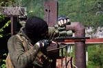 Shotgun Sniping (S.T.A.L.K.E.R. Cosplay)