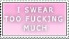 [Stamp] Swearing [F2U] by AstriaArts