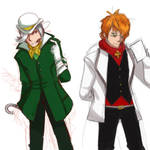 Roman Torchwick and Prof. Ozpin: Color Swap
